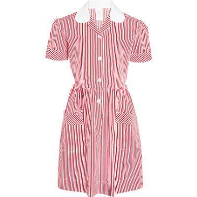 School Striped Summer Dress