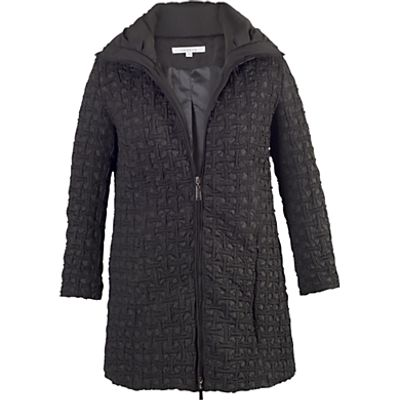 Chesca Mini Bonfire Quilted Coat, Black