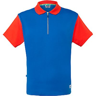 Girl Guide Polo Shirt, Red/Royal Blue