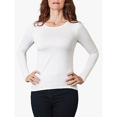5052265259667 | Pure Collection Soft Jersey Crew Neck Top