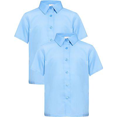 John Lewis Girls' Easy Care Short Sleeve School Blouse