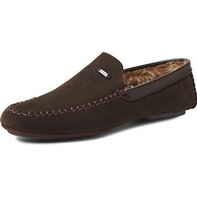 Ted Baker Morris Moccasin Suede Slippers