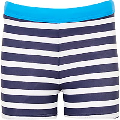 John Lewis Boys' Striped Swimming Trunks
