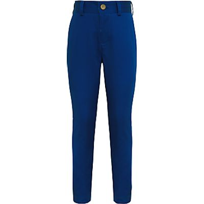 John Lewis Heirloom Collection Boys' Cotton Sateen Suit Trousers, Blue