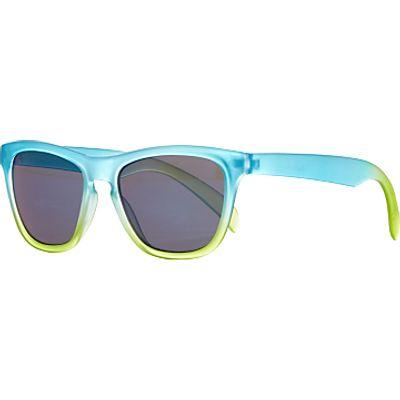 John Lewis Children's Ombre Wayfarer Sunglasses, Blue/Green