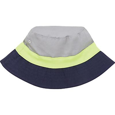 John Lewis Children's Colour Block Bucket Hat