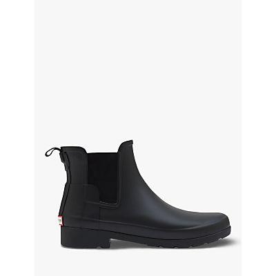 Hunter Women's Original Refined Chelsea Wellington Boots, Black