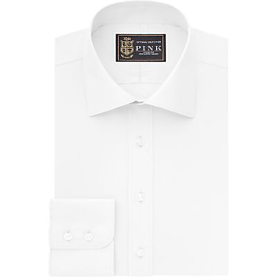 5057084054073 | The Lions Collection by Thomas Pink Dawes Plain Athletic Fit Shirt  White Store