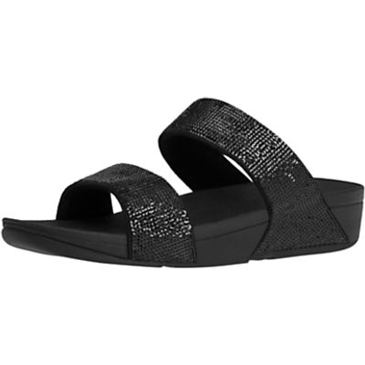 FitFlop Electra Micro Slide Sandals, Black