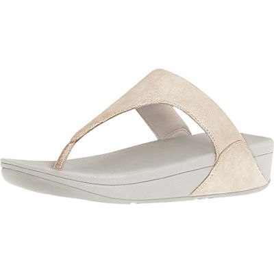 FitFlop Shimmy Suede Toe Thong Sandals