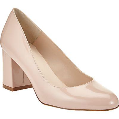 John Lewis Aisha Block Heeled Court Shoes