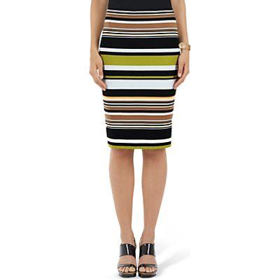 4056255446229 | Marc Cain Stretch Stripe Skirt  Multi