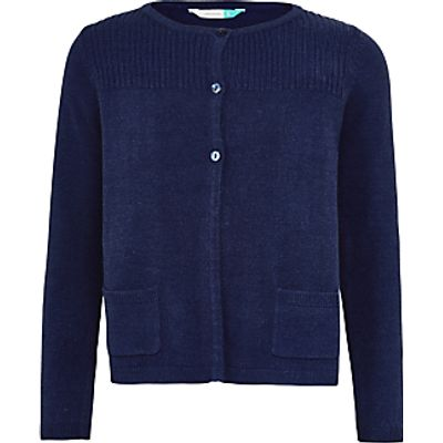 John Lewis Girls' Lead In Cardigan