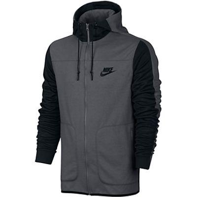 Nike Sportswear Advance 15 Hoodie, Grey/Black