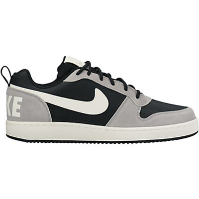 Nike Court Borough Low Premium Men's Trainers, Black/Silver