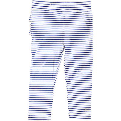 Angel & Rocket Baby Striped Leggings, Blue