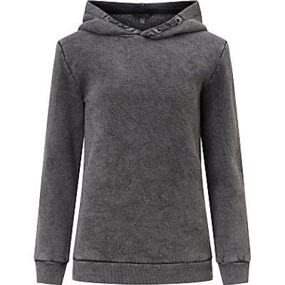 John Lewis Children's Hooded Sweatshirt, Grey Marl