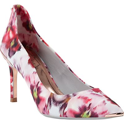 Ted Baker Vyixin Expressive Pansy Court Shoes, Multi