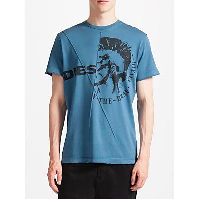 Diesel T-Ulee 'Brave' Punk Graphic Print T-Shirt