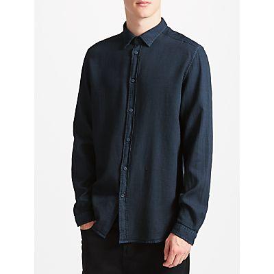 Diesel S-Jacq Cotton Shirt, Total Eclipse