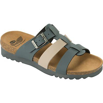 Scholl Kalea Triple Strap Sandals, Grey Mixed