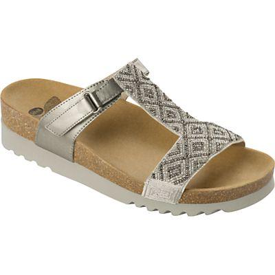 Scholl Astrelle T-Bar Sandals, Metallic