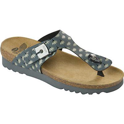 Scholl Boa Vista Toe Post Sandals, Dark Grey