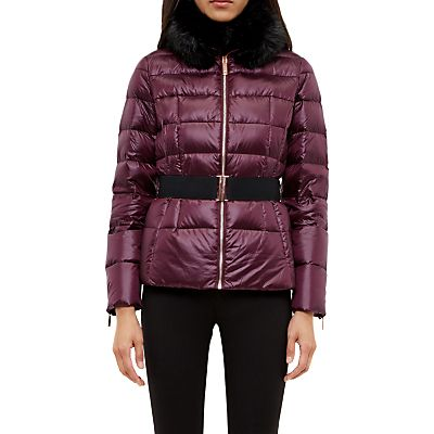 Ted Baker Junnie Quilted Down Filled Jacket