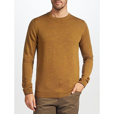 John Lewis Made in Italy Merino Wool Crew Neck Jumper
