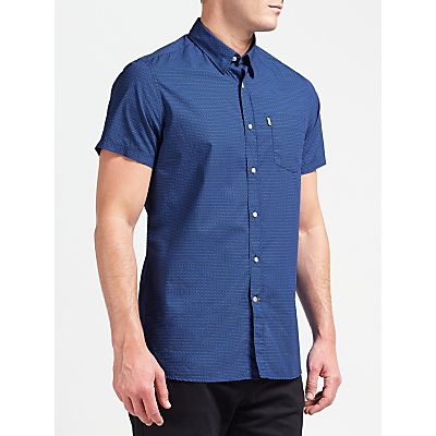 Barbour Lymington Short Sleeve Shirt, Navy