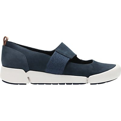 Clarks Tri Ava Sports Pumps, Navy