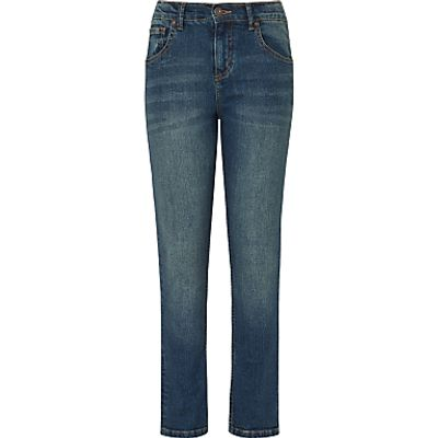 John Lewis Boys' Relaxed Tapered Jeans, Denim