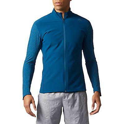 Adidas Supernova Storm Men's Running Jacket, Blue