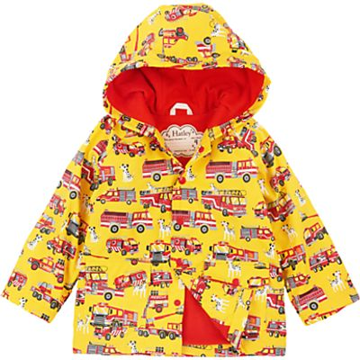 Hatley Boys' Firetrucks and Dalmatians Raincoat