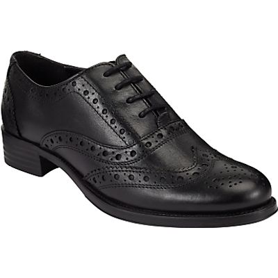 John Lewis Felicity Lace Up Brogues, Black