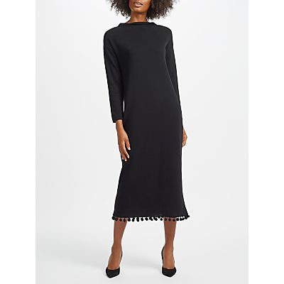 Weekend MaxMara Calabra Knitted Maxi Dress, Black