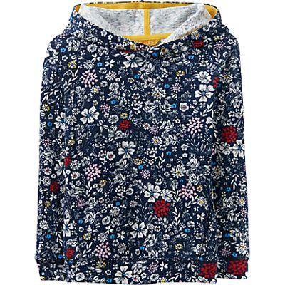 Little Joule Girls' Overhead Hooded Sweatshirt, Navy