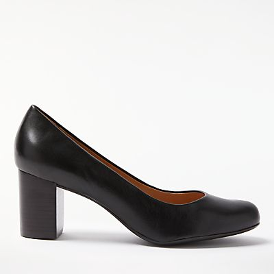 John Lewis Anita Block Heeled Court Shoes
