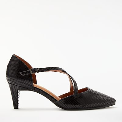 John Lewis Adaline Cross Strap Court Shoes