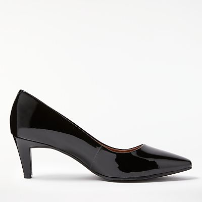 John Lewis Aleah Block Heeled Court Shoes