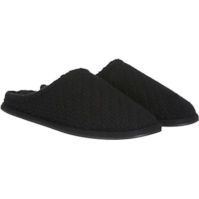 John Lewis Basketweave Mule Slippers