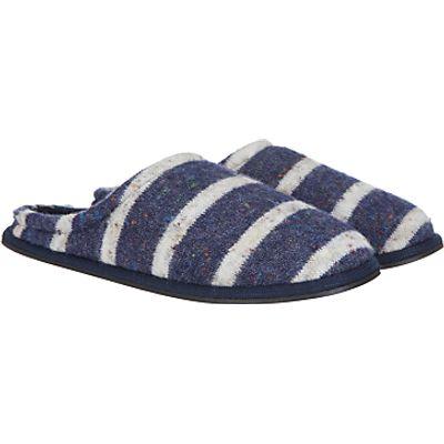 John Lewis Fleck Stripe Mule Slippers