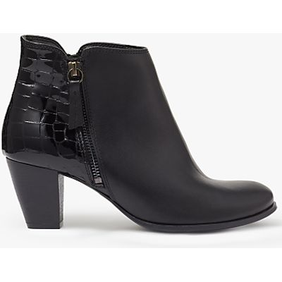 John Lewis Petra Block Heeled Ankle Boots