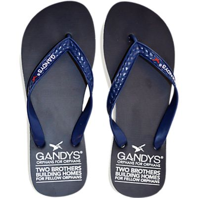 Gandys for John Lewis Original Flip Flops, Navy