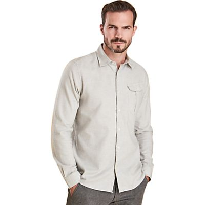 Barbour Land Rover Defender Selside Long Sleeve Shirt, Grey