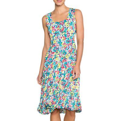 East Tallulah Pleat Dress, Lime