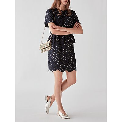 Y.A.S Kail Dotted Dress, Night Sky