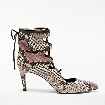AND/OR Adelma Lace Up Court Shoes