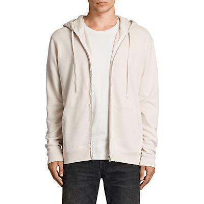 AllSaints Exole Distressed Cotton Hoodie