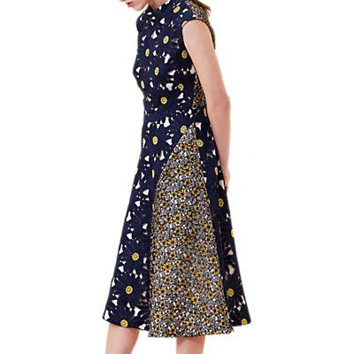Finery Durham Daisy Lace A-Line Dress, Multi